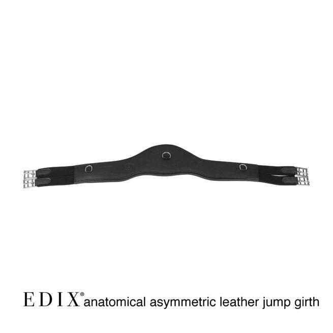 EDIX anatomic leather dressage girth