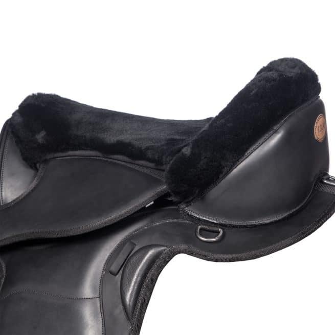 EDIX Merino fur seatsaver, for treeless saddle