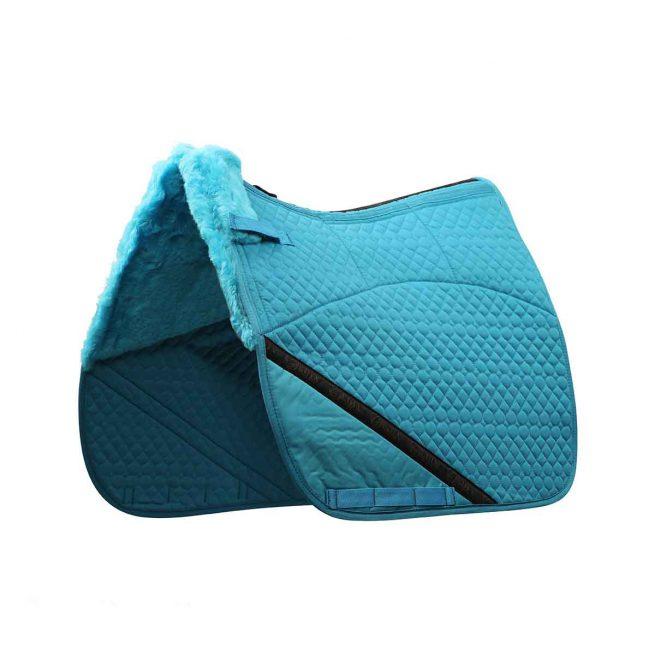 EDIX Uni dressuur Merino scheepkin 8-pocket saddle pad