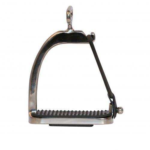EDIX mono stirrup leathers with double t-bar